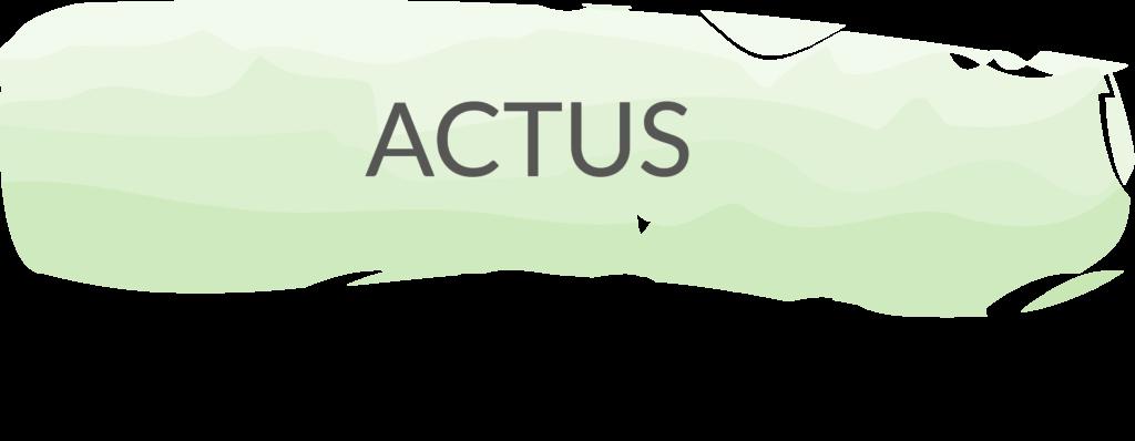 Actus Blog
