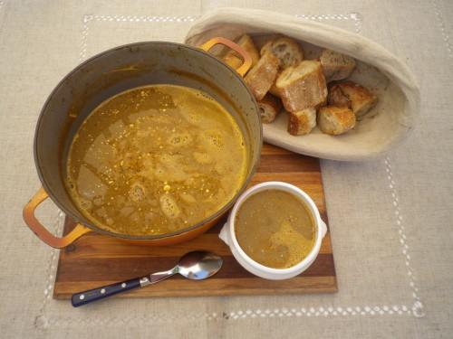Bisque de crabes verts (Pêche personnelle…)