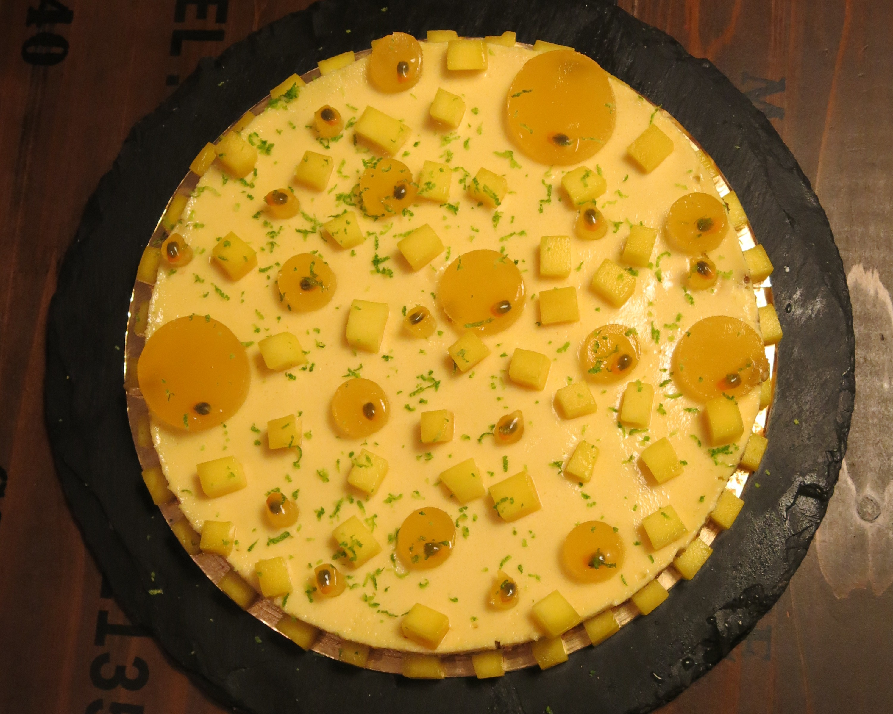 Cheese cake Mangue-Passion
