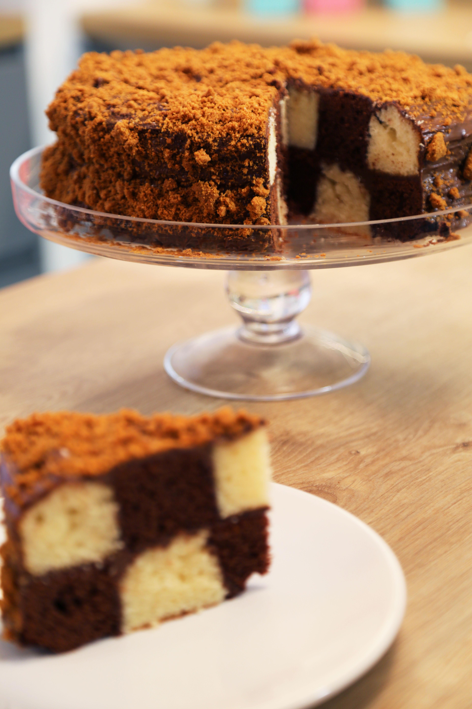 Comment réaliser un gâteau damier ?