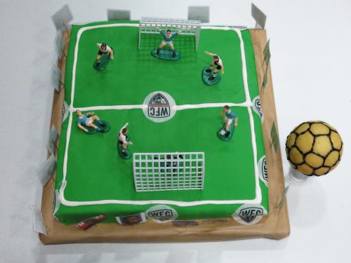 Gâteau Terrain de Foot pour le Winamax Football Club !