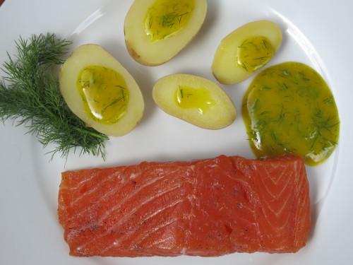 Assure un max avec ton saumon gravlax…