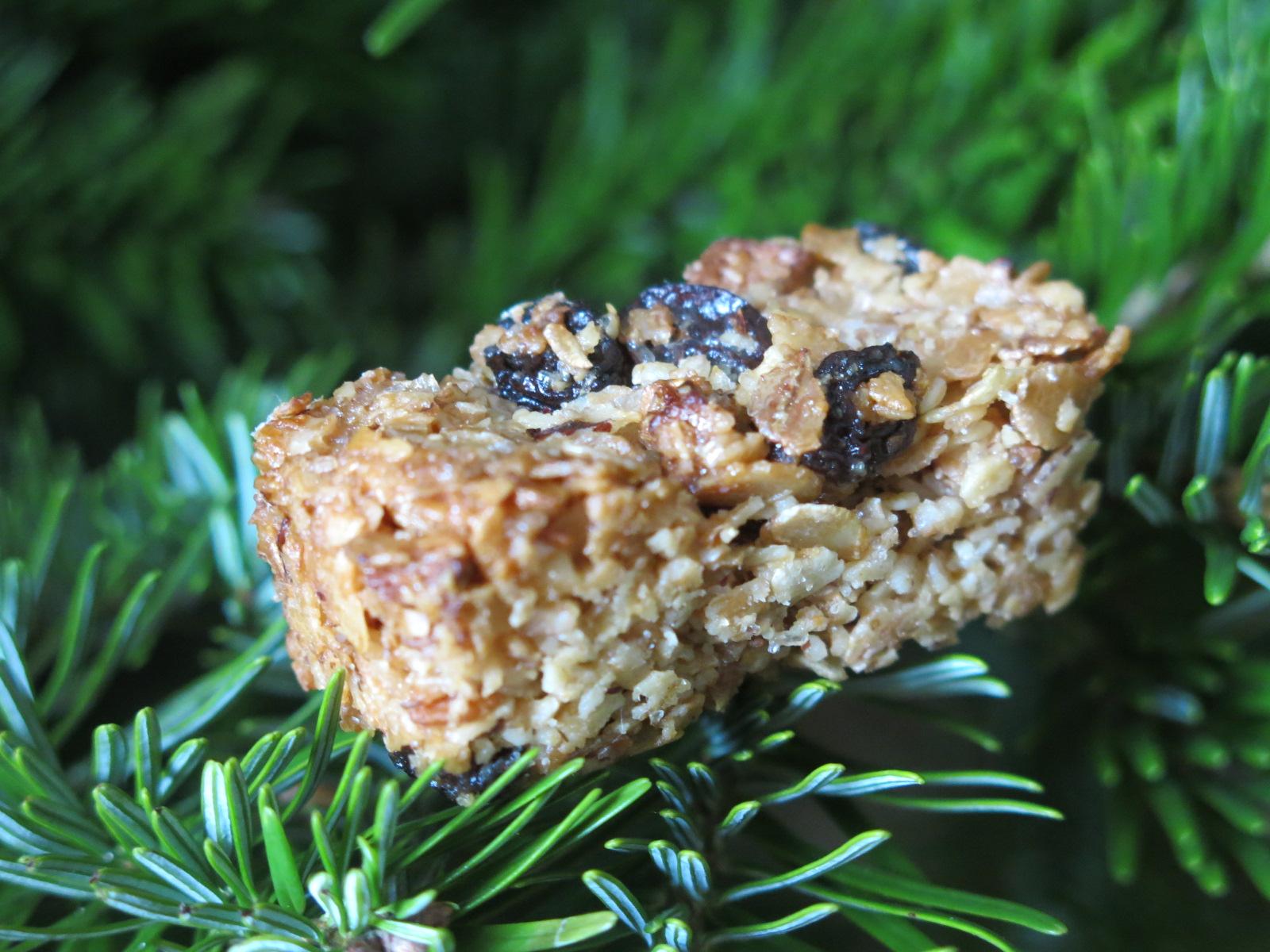 Barre de céréales au Muesli et fruits secs