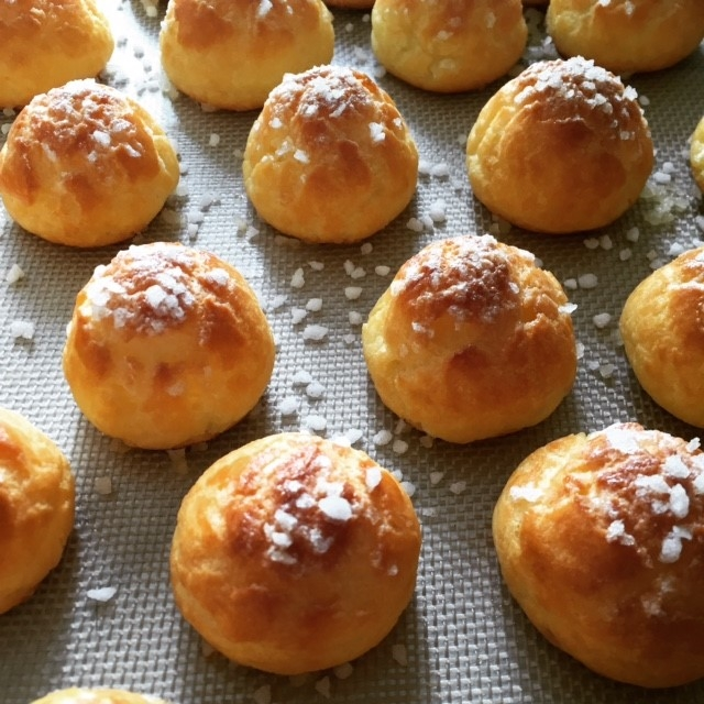 Chouquettes, test CAP Pâtisserie !