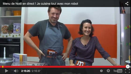 Dîner de Noël avec le robot Magimix !