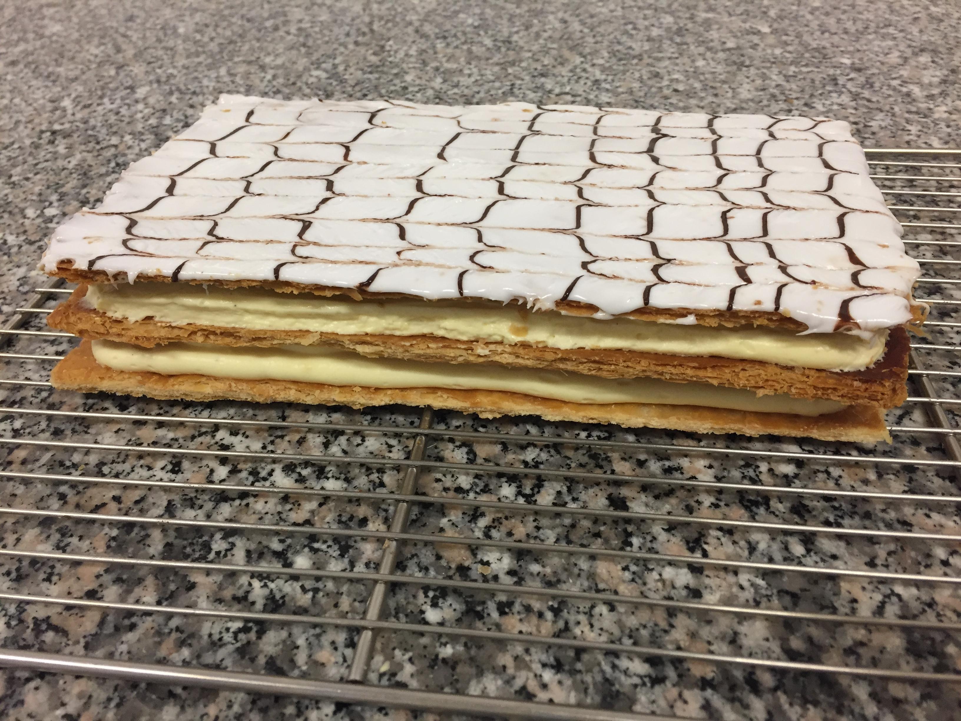 Mille-feuille ou l'art de la pâte feuilletée !