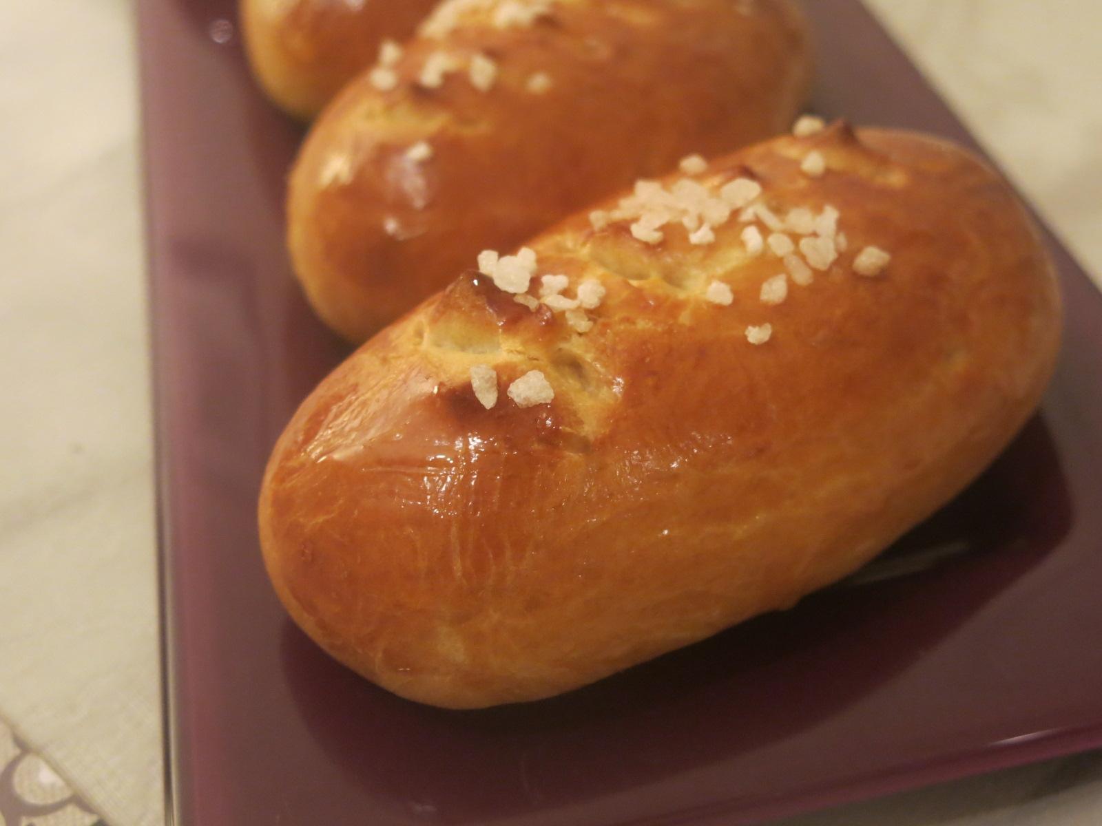 Pâte à pain au lait et façonnage