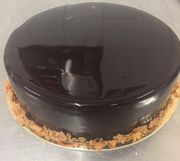 Royal au chocolat, méthode CAP Pâtissier