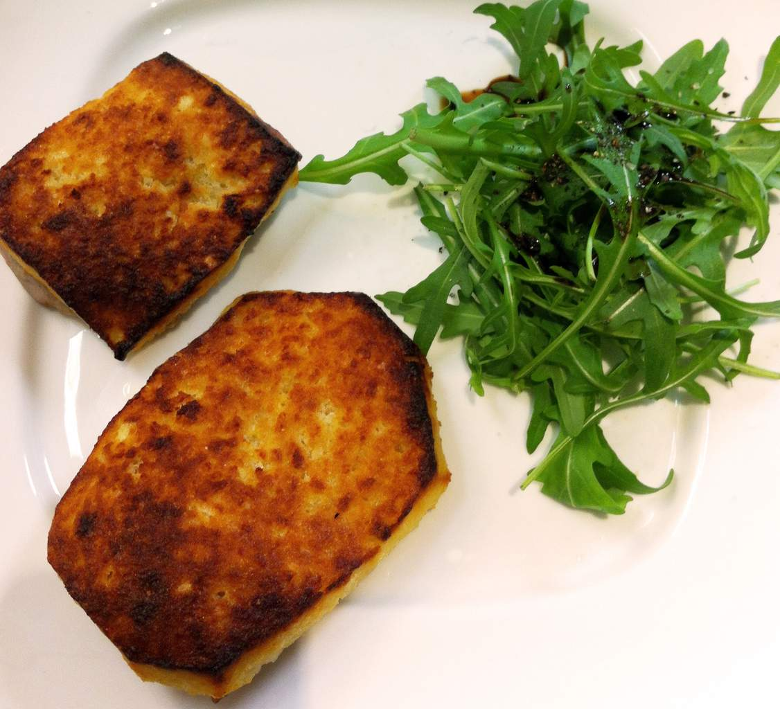 Veau piccata en croûte de camembert Cœur de Lion